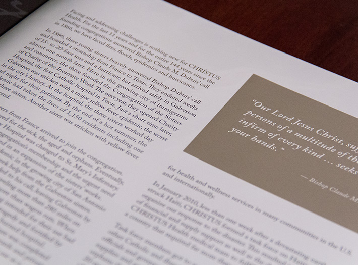 Annual report, type