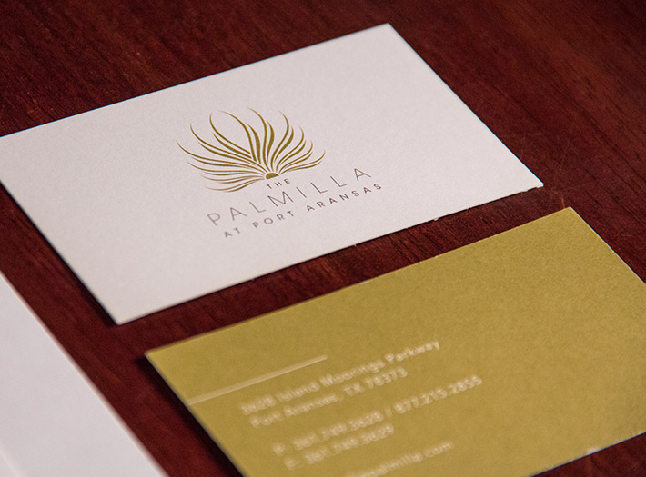 ThePalmillaStationeryBusinessCard