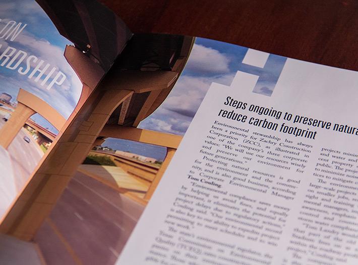 Newsletter, print, spread